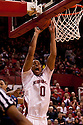 18 February 2012: Toney McCray #0 of the Nebraska Cornhuskers dunks the ball against the Fighting Illini during the second half at the Devaney Sports Center in Lincoln, Nebraska. Nebraska defeated Illinois 80 to 57.