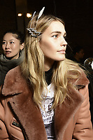 Zadig &amp; Voltaire 12/02/2018<br /> Backstage, New York Fashion Week FW18 <br /> New York Fashion Week,  New York, USA in February 2018.<br /> CAP/GOL<br /> &copy;GOL/Capital Pictures<br /> Zadig &amp; Voltaire 12/02/2018<br /> Backstage, New York Fashion Week FW18 <br /> <br /> New York Fashion Week,  New York, USA in February 2018.<br /> CAP/GOL<br /> &copy;GOL/Capital Pictures /MediaPunch ***NORTH AND SOUTH AMERICAS ONLY***