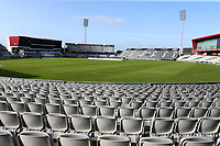 General view of the ground during Lancashire CCC vs Essex CCC, Specsavers County Championship Division 1 Cricket at Emirates Old Trafford on 6th September 2017