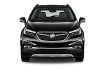 Car photography straight front view of a 2017 Buick Encore Premium 5 Door SUV Front View