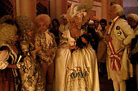 Amadeus (1984) <br /> Tom Hulce, Elizabeth Berridge, Christine Ebersole &amp; Jeffrey Jones<br /> *Filmstill - Editorial Use Only*<br /> CAP/KFS<br /> Image supplied by Capital Pictures