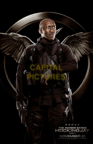 POSTER ART with Mahershala Ali as Boggs<br /> in The Hunger Games - Mockingjay - Part 1 (2014) <br /> *Filmstill - Editorial Use Only*<br /> CAP/NFS<br /> Image supplied by Capital Pictures