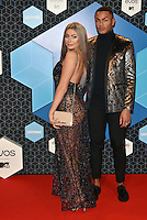 Chloe, Nathan (Geordie Shore)<br /> 2016 MTV EMAs in Ahoy Arena, Rotterdam, The Netherlands on November 06, 2016.<br /> CAP/PL<br /> &copy;Phil Loftus/Capital Pictures /MediaPunch ***NORTH AND SOUTH AMERICAS ONLY***