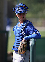 Los Angeles Dodgers minor leaguer Ryder Mathias during Spring Training at Dodgertown on March 22, 2007 in Vero Beach, Florida.  (Mike Janes/Four Seam Images)