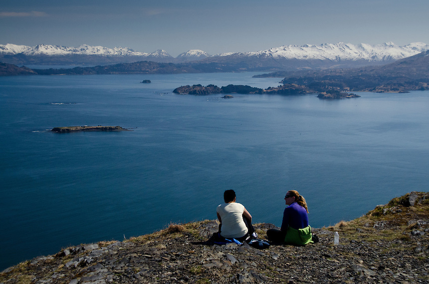 The View Above Kodiak, Kodiak Island, Alaska, US