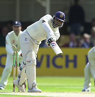 31/05/2002.Sport -Cricket - 2nd NPower Test -Second Day.England vs Sri Lanka.Hashan Tillakarathne loses his wicket the declared a no ball.. [Mandatory Credit Peter Spurrier:Intersport Images]