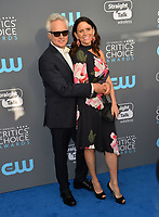 Bradley Whitford &amp; Amy Landecker at the 23rd Annual Critics' Choice Awards at Barker Hangar, Santa Monica, USA 11 Jan. 2018<br /> Picture: Paul Smith/Featureflash/SilverHub 0208 004 5359 sales@silverhubmedia.com