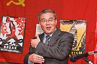 October Revolution Celebrations Southall LDN 2013 Saklatvala Hall - His Excellency Comrade Hyon Hak Bong DPRK speaking