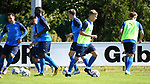 13.07.2020, Stadion am Lotter Kreuz, Lotte, GER, RLW, Trainingsauftakt SF Lotte<br /> <br /> im Bild<br /> Jakob Duhme (SF Lotte, 36) mit Ball.<br /> <br /> Foto © nordphoto / Paetzel