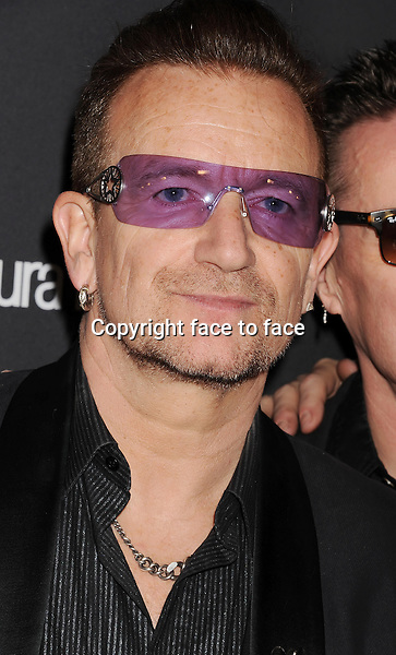 BEVERLY HILLS, CA- JANUARY 12: Musician Bono of U2 attends The Weinstein Company &amp; Netflix 2014 Golden Globes After Party held at The Beverly Hilton Hotel on January 12, 2014 in Beverly Hills, California.<br />