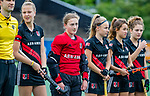 AMSTELVEEN - Isabella Klauwers (A'dam) . finale Kampong MB1-Amsterdam MB1. AMSTERDAM MB1 wint de titel Meisjes B. finales A en B jeugd  Nederlands Kampioenschap.  COPYRIGHT KOEN SUYK