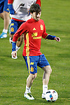 Spain's David Jimenez Silva during training session. March 21,2016. (ALTERPHOTOS/Acero)