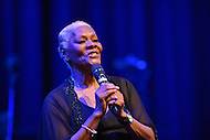 February 26, 2013  (Washington, DC)  Grammy Award winning singer Dionne Warwick on stage at the historic Howard Theatre. She sang a tribute to Stevie Wonder after he received the CBCF 2013 Distinguished Individual Award at the Howard Theatre. (Photo by Don Baxter/Media Images International)