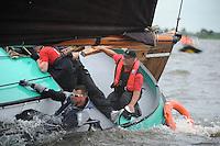 ZEILEN: TERHERNE: Snitser Mar, SKS skûtsjesilen, Albert Jzn. Visser (Lemmer), ©foto Martin de Jong