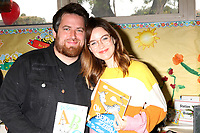 LOS ANGELES - MAR 1:  Lee DeWyze, Jonna Walsh at the Read Across America Event at the Ardella B. Tibby K – 8 School on March 1, 2019 in Compton, CA