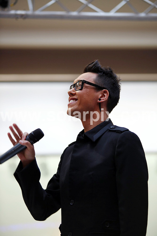 "**ALL ROUND PICTURES FROM SOLARPIX.COM**.**WORLDWIDE SYNDICATION RIGHTS**.Gok Wan recording the next series of Channel 4 Television's ""How to look good naked"" series at the Bullring shopping centre in Birmngham, UK. 7 August 2009.This pic: Gok Wan..JOB REF: 9713 NYA     DATE: 07_08_2009.**ALL ROUND EXCLUSIVE PICTURES FROM SOLARPIX.COM"