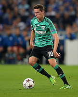 FUSSBALL   CHAMPIONS LEAGUE   SAISON 2013/2014   PLAY-OFF FC Schalke 04 - Paok Saloniki        21.08.2013 Julian Draxler (FC Schalke 04) am Ball