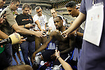 USA's LeBron James attends the journalists during training session.July 23,2012(ALTERPHOTOS/Acero)