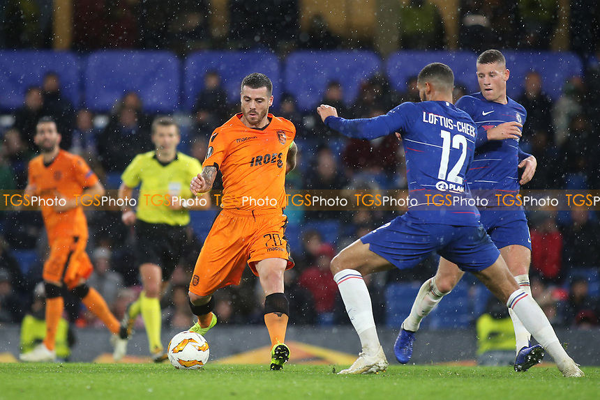 Vieirinha of PAOK Salonika in action during Chelsea vs PAOK Salonika, UEFA Europa League Football at Stamford Bridge on 29th November 2018