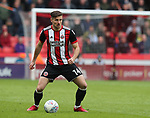 Ryan Leonard of Sheffield Utd during the championship match at the Bramall Lane Stadium, Sheffield. Picture date 28th April 2018. Picture credit should read: Simon Bellis/Sportimage