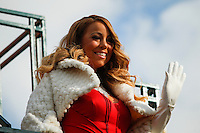 Singer Mariah Carey attends the 89th Macy's Thanksgiving Annual Day Parade in the Manhattan borough of New York.  11/26/2015. Eduardo MunozAlvarez/VIEWpress