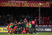 Italy celebrates at the end of the match<br /> Benevento 08-11-2019 Stadio Ciro Vigorito <br /> Football UEFA Women's EURO 2021 <br /> Qualifying round - Group B <br /> Italy - Georgia<br /> Photo Cesare Purini / Insidefoto