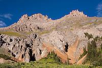 Potosi Peak from Yankee Boy Basin, Colorado.<br /> <br /> Canon EOS 5D, 50mm f/1.8 lens