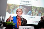 Utrecht, 28 september 2010.Nederlands Film Festival.Persconferentie Pim de la Parra, n.a.v. restauratie Wan Pipel..Pim de la Parra .Foto Felix Kalkman