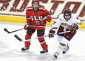 Michelle Ng (St. Lawrence - 3), Danielle Welch (BC - 17) - The visiting St. Lawrence University Saints defeated the Boston College Eagles 4-0 on Friday, January 15, 2010, at Conte Forum in Chestnut Hill, Massachusetts.