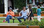 ..June 14th 2012   Exclusive ...David Duchovny watching his kids play in the Cross creek park in Malibu California. David was also talking with friends & family members Tea Leoni. Madelaine West duchovny Madeline Kyd Miller Duchovny...AbilityFilms@yahoo.com.805-427-3519.www.AbilityFilms.com.