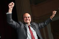 20121202 ROMA-POLITICA: PRIMARIE DEL CENTROSINISTRA, VINCE BERSANI