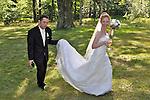 Chris and Rachel's wedding