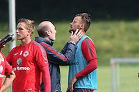 10.09.2014: Eintracht Frankfurt Training