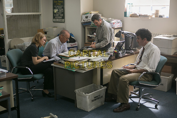 Spotlight (2015)   <br /> Rachel McAdams, Michael Keaton, Mark Ruffalo, Brian d'Arcy James <br /> *Filmstill - Editorial Use Only*<br /> CAP/KFS<br /> Image supplied by Capital Pictures
