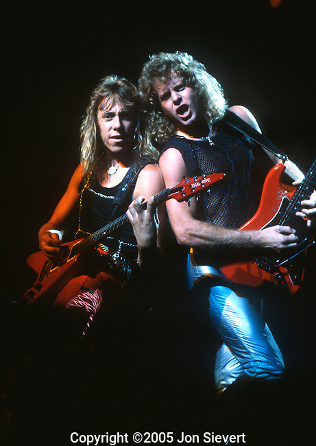 "Jeff Watson, Brad Gillis, Night Ranger, Sept 1984. Night Ranger is an American rock band from San Francisco that gained significant popularity during the 1980s with a series of successful albums and singles.The band's first five albums sold over 10 million copies worldwide, and gave the band international recognition. The quintet is perhaps best known for the power ballad ""Sister Christian"", which peaked at #5 in June 1984."