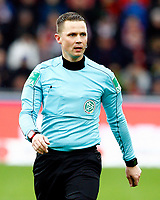 Dr. Robert KAMPKA, DFB-referee, referee,  Portraet, Halbkoerper,  hoch, Fussball, 1. Bundesliga  2017/2018<br /> <br />  <br /> Football: Germany, 1. Bundesliga, SC Freiburg vs Bayer 04 Leverkusen, Freiburg, 03.02.2018 *** Local Caption *** © pixathlon<br /> Contact: +49-40-22 63 02 60 , info@pixathlon.de