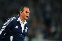 FUSSBALL   1. BUNDESLIGA   SAISON 2012/2013   5. SPIELTAG FC Schalke 04 - FSV Mainz 05                               25.09.2012        Trainer Huub Stevens (FC Schalke)