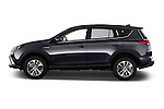 Car Driver side profile view of a 2016 Toyota RAV4 Business Edition Plus 5 Door Suv Side View