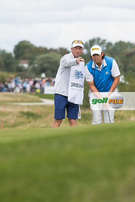 Gavin Green (MAS) in action on the 6th hole during the 2nd round at the KLM Open, The International, Amsterdam, Badhoevedorp, Netherlands. 13/09/19.<br /> Picture Stefano Di Maria / Golffile.ie<br /> <br /> All photo usage must carry mandatory copyright credit (© Golffile | Stefano Di Maria)