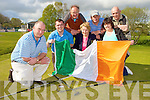 Derry McCarthy Chairman and members of Deerpark Pitch and Putt club celebrate on Monday after it was announced that the Irish Open will be held in the Killarney course next April l-r: Jason O'Connor, Gerry O'Sullivan, Kay O'Sullivan, Gerard Casey, Mary Mahony and Danny Looney