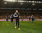 Belgium's Eden Hazard warms up<br /> <br /> - European Qualifier - Belgium vs Wales- Heysel Stadium - Brussels - Belgium - 16th November 2014  - Picture David Klein/Sportimage