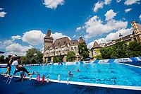 Training<br /> Synchronised swimming, Synchro<br /> Day 000 12/07/2017 <br /> XVII FINA World Championships Aquatics<br /> City Park - Varosliget Lake<br /> Budapest Hungary July 14th - 30th 2017 <br /> Photo @A.Masini/Deepbluemedia/Insidefoto