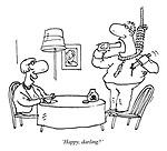 'Happy, darling?'