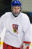 ? - Team Czech Republic practiced at the Urban Plains Center in Fargo, North Dakota, on Saturday, April 18, 2009 in the morning prior to their final match against Sweden during the 2009 World Under 18 Championship.