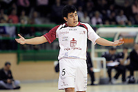 Caja Segovia's Victor Paez during Spanish National Futsal League match.November 24,2012. (ALTERPHOTOS/Acero) /NortePhoto