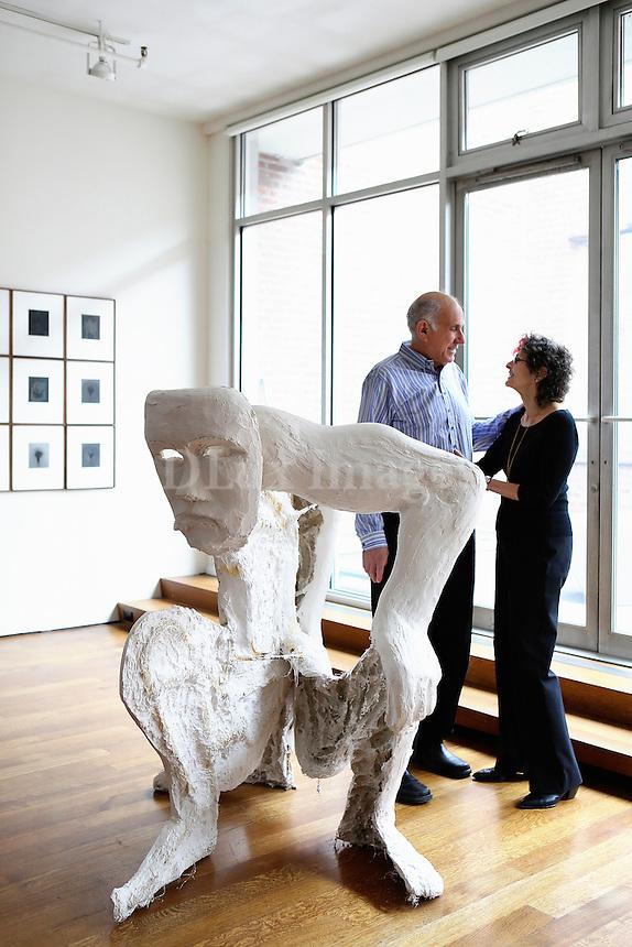 Portrait of Susan and Michael Hort