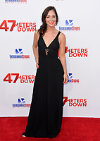 Christina Elizabeth Smith at the Los Angeles premiere for &quot;47 Meters Down&quot; at the Regency Village Theatre, Westwood. <br /> Los Angeles, USA 12 June  2017<br /> Picture: Paul Smith/Featureflash/SilverHub 0208 004 5359 sales@silverhubmedia.com