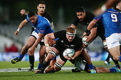 16th June 2017, Eden Park, Auckland, New Zealand; International Rugby Pasifika Challenge; New Zealand versus Samoa;  Sam Cane of New Zealand on the charge