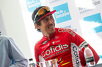 Picture by SWpix.com - 06/05/2018 - Cycling - 2018 Tour de Yorkshire - Stage 4: Halifax to Leeds - Stephane Rossetto of Team COFIDIS in the post match press conference.