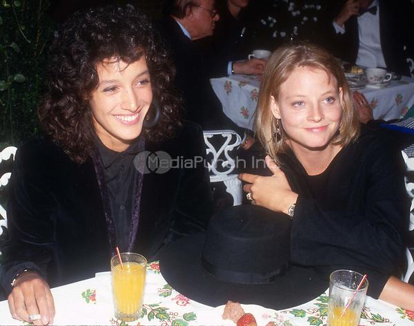 Jennifer Beals and Jodie Foster Circa 1980's<br /> Photo By John Barrett/PHOTOlink.net /MediaPunch